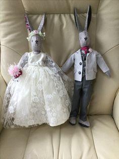 Glynis's Bridal Bunnies