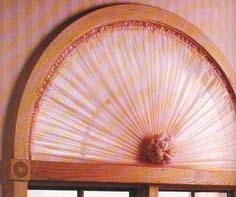 Sunburst Curtains For Round Windows