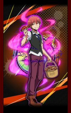 assassination classroom game cards