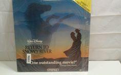 RETURN TO SNOWY RIVER - Walt Disney - LASERDISC - Sigrid Thorton  Tom Burlinson