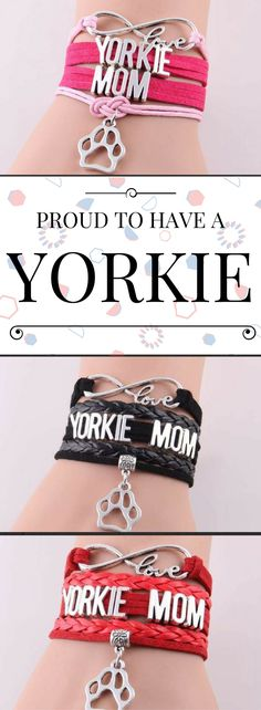 If you are proud to be a Yorkie mom, you have got to have this!