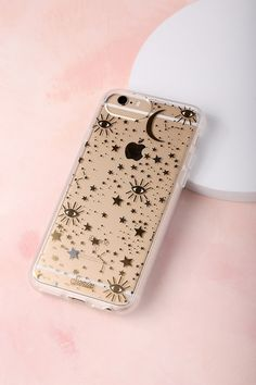 398e7b7636cc Cosmic Clear and Gold Star Print iPhone 6s