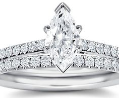 double banded marquise ring by blue nile Wedding Sets, Wedding Rings, Wedding Stuff, Dream Wedding, Diamond Bracelets, Diamond Rings, Engagement Ring Settings, Diamond Engagement Rings, Marquise Diamond