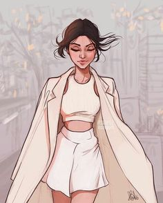 Most popular tags for this image include: itslopez, drawing, fashion, art and. Illustration Mode, Character Illustration, Illustrations, Beautiful Drawings, Cute Drawings, Girl Drawings, Fashion Sketches, Art Sketches, Drawing Fashion