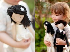 Custom wedding dolls rag doll bride and groom rag by apacukababa Unique Gifts For Couples, Couple Gifts, Wedding Couples, Wedding Gifts, New Job Gift, Wedding Doll, Bride Dolls, Make Happy, Little Doll