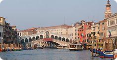 The Rialto Bridge of Venice