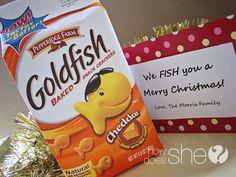 "Over 36 Neighbor Gift Ideas…and Counting! We ""fish"" you a Merry Christmas Neighbor Christmas Gifts, Neighbor Gifts, All Things Christmas, Winter Christmas, Christmas Holidays, Merry Christmas, Christmas Ideas, Christmas Activities, Winter Holidays"