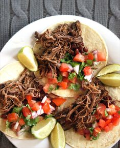 Barbacoa Beef Tacos | 18 Ways To Use Your Slow Cooker ThisSummer