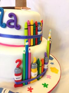 Art-Themed+Cakes | Art themed cake
