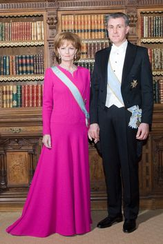 Crown Princess and Prince Radu of Romania Gala Gowns, Gala Dresses, Evening Dresses, Romanian Royal Family, Casa Real, Imperial Russia, Royal House, Queen Victoria, Rey
