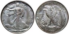 1938-D Walking Liberty Half Dollar, one of the few issues of the series that had a mintage of less than half a million at 491,600 pieces, representing the third lowest figure of the series. Although the issue does sell for a healthy premium over other more common dates of the 1930s, it is not the rarest coin of the era at the gem level. By the mid 1930s, collectors had become more astute at saving lower mintage coins for circulation, making this date more available.