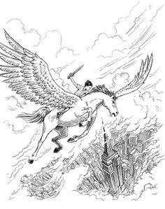 Percy Jackson And The Olympians Coloring Book By Rick Riordan