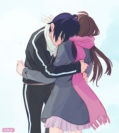 Ew, I will never ship them, I hate Hiyori too much
