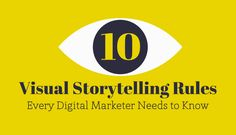 10 Visual Storytelling Rules every digital marketer [and student] needs to know - The art of storytelling is as old as the human race itself. Today, having a mastery of visual storytelling techniques has become more important than ever. Consider how students can apply them to their own creative visually-oriented class projects.