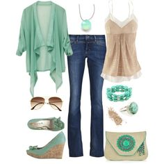 """""""Sand and Sea"""" by fun-to-wear on Polyvore"""