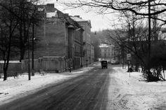 Ulica Warneńczyka od strony bulwarów do ul. Kalwaryjskiej