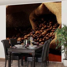Wunderbar Bilderwelten Vliestapete Küche Quadrat »Dulcet Coffee«. Quadrat, Tapeten