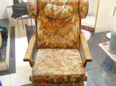 Alte Stuhl Armchair, Furniture, Home Decor, Old Chairs, Chair, Antiquities, Sofa Chair, Single Sofa, Decoration Home