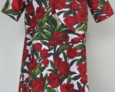 Tulip Dress, Dresses for your Little Girls Aged 2-8 by SerendipityGDDsShop Tulip Dress, Little Girls, Dresser, Short Sleeve Dresses, Trending Outfits, Handmade Gifts, Shopping, Vintage, Etsy