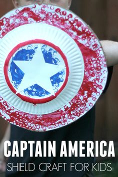 Toddler Approved!: Easy Captain America Shield Craft for Kids Using LEGO