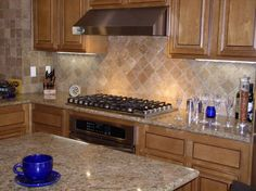 Pics please of backsplashes with Giallo Ornamental - Kitchens Forum - GardenWeb