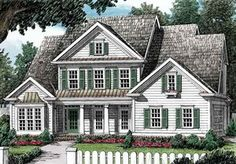 89 best for the home images on pinterest in 2018 home for Southern living house plans with keeping rooms