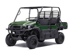 New 2017 Kawasaki Mule PRO-FXT EPS ATVs For Sale in Tennessee. In addition to the strength and power of the Mule PRO-FXT Side x Side, the EPS version has Electric Power Steering that self-adjusts to deliver optimal steering assistance based on vehicle speed.Versatile and convenient three- to six-passenger Trans Cab systemPowerful 812 cc three-cylinder, liquid-cooled, fuel-injected (DFI®) engineMassive 75A of alternator capacity for powering LED headlights and multiple…