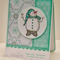 Always Playing with Paper Christmas Snowman, Christmas Ideas, Christmas Goodies, Christmas Holiday, Christmas Crafts, Homemade Christmas Cards, Homemade Cards, Xmas Cards, Holiday Cards