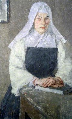 The Nun by Gwen John, late 1910s, Glynn Vivian Art Gallery