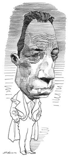 Albert Camus by David Levine