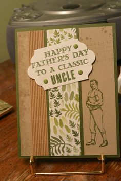 Amazing Uncles deserve Father's Day cards - cased