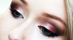 Smokey eye with cranberry pop using Morphe 35F palette