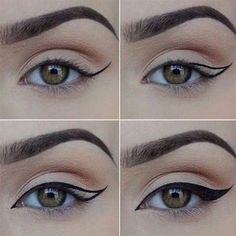 13. Another very important thing to do is determine your eye shape. (In fact, this is the first step to figuring out where and how you should apply eye makeup, and it's usually the step that people tend to forget the most.)