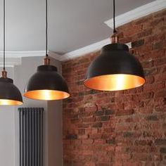Ideas For Kitchen Bar Restaurant Lighting Foyer Pendant Lighting, Copper Pendant Lights, Suspended Lighting, Copper Lighting, Bar Lighting, Lighting Ideas, Basement Lighting, Room Lights, Hanging Lights