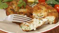 This cod fish cake recipe is made from fresh fish, and is a simple and quick meal to make. It is very nice served with rice or mashed potatoes. Cod Fish Cakes Recipe from Grandmothers Kitchen. Fish Cakes Recipe, Fish Recipes, Seafood Recipes, Cooking Recipes, Cooking Videos, Sweet Recipes, Salad Recipes, Cake Recipes, Cod Fish Cakes
