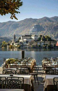 Lago d' Orta (Lake Orta) - Italy !
