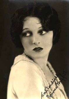 Lottie Pickford (1893-1936) -   Canadian-born silent film actress, socialite and sister of Mary Pickford.