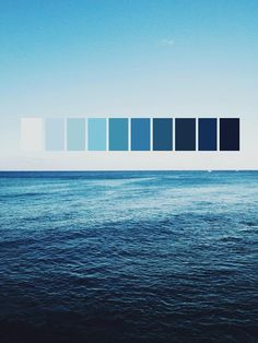 Ocean blue | Color palette | Color scheme inspiration