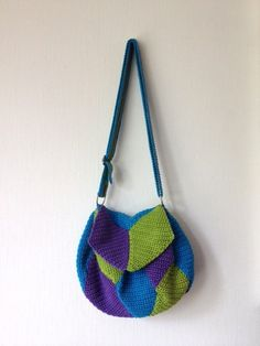 Diamonds summer bag - Jellina #crochetbag