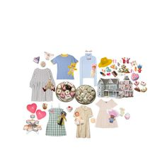"""playdate"" by the-lonely-wallflower ❤ liked on Polyvore featuring Jacquemus, Cartier, REINHARD PLANK, Hannah Makes Things, Forever 21, Paul & Joe, Dollhouse, CO, Schoenhut and Rock Rebel"