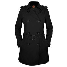 (I have this in black and bright red. Favorite light fall jacket/raincoats.)