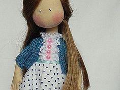 Как быстро и просто связать кофточку для куклы - Ярмарка Мастеров - Наталья Морозова текстильные куклы - Ярмарка Мастеров http://www.livemaster.ru/topic/842369-kak-bystro-i-prosto-svyazat-koftochku-dlya-kukly