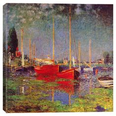 Argenteuil by Monet Canvas Print