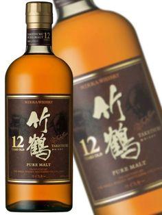 Taketsuru 12YO Nikka Whisky, Top Drinks, Whiskey Bottle, Japan, Pure Products, Hokkaido, Japanese