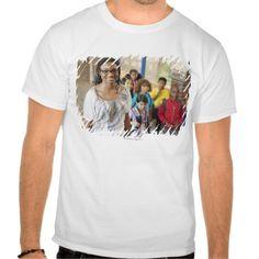 Teacher and students in school hallway shirts T Shirt, Hoodie Sweatshirt