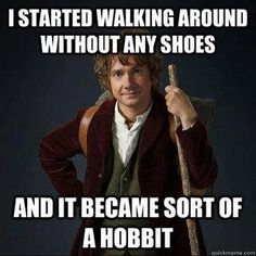 Join Bilbo Baggins on his Unexpected Journey in our Hobbit Quiz! Full of fun Hobbit trivia based on both the book and film - if you're a Tolkien fan you'll love it! Van Morrison, Tolkien, Lotr, Funny Puns, Funny Humor, Funny Stuff, Nerd Humor, Funny Things, Funny Shit