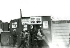 Selhurst Park football ground, South London (1979)