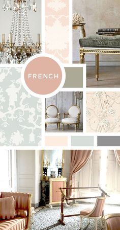Your Ultimate Guide to Interior Design Styles: French- Oo la la! You probably dream of Paris and the Petite Trianon are #goals! And while there are plenty of different types of French designs, normally dealing with the shape of chair legs (I could go on and on), let's just say your style is curvacious, luxe, airy, and ornate. #WonderfulInteriorDesignTips