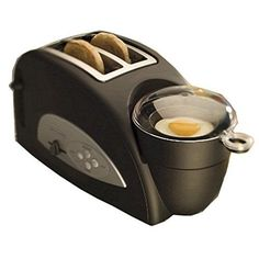 Back to Basics TEM500 Egg-and-Muffin 2-Slice Toaster and Egg Poacher: Amazon.com: Kitchen & Dining