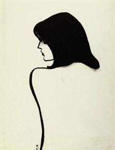 René Gruau - Femme, 1989